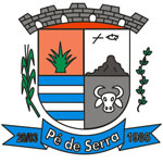 Brasão: Prefeitura Municipal de Pé de Serra