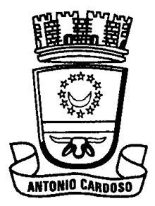Brasão: Prefeitura Municipal de Antônio Cardoso