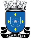 Brasão: Prefeitura Municipal de Acajutiba