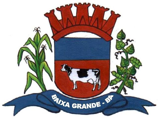 Brasão: Prefeitura Municipal de Baixa Grande