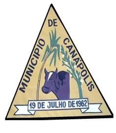 Brasão: Prefeitura Municipal de Canápolis