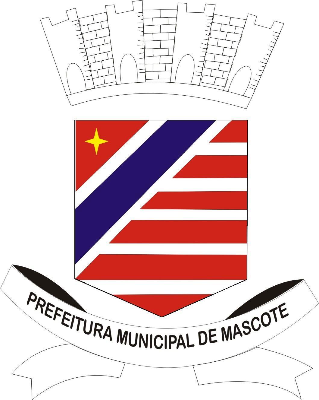Brasão: Prefeitura Municipal de Mascote