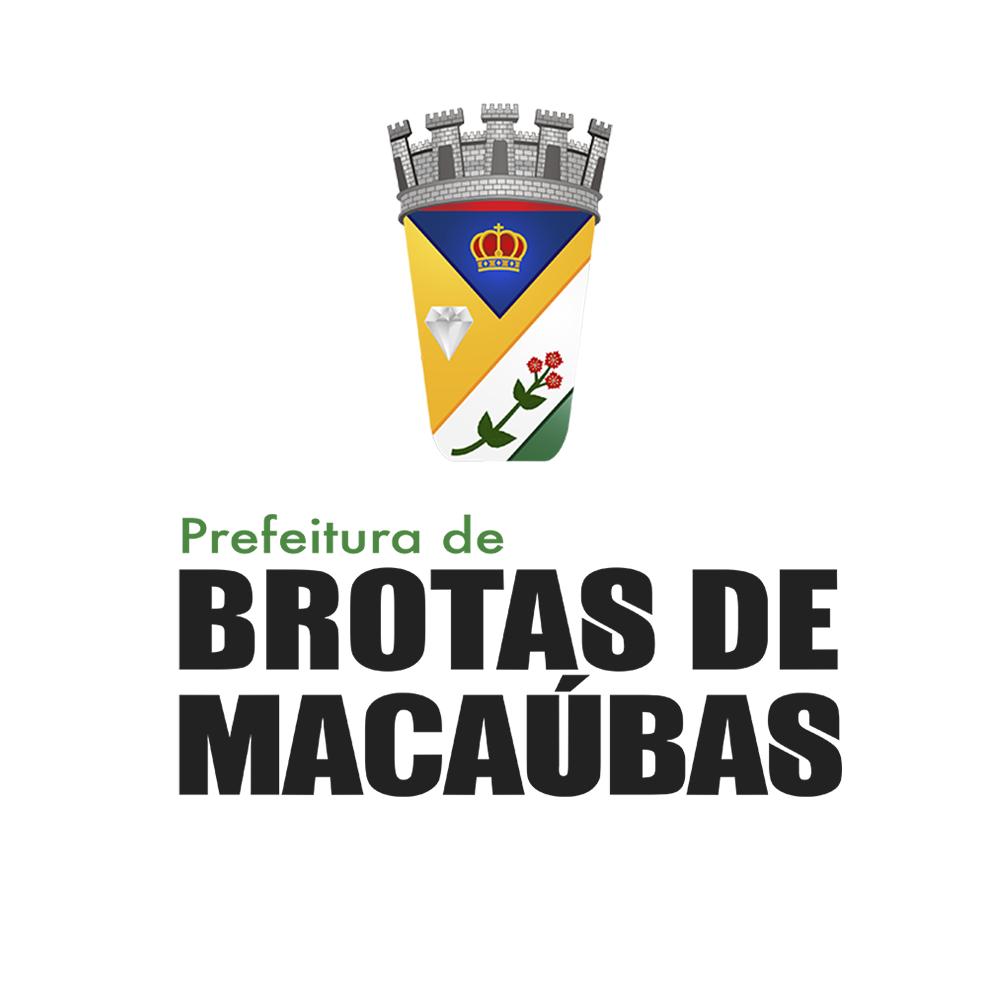 Brasão: Prefeitura Municipal de Brotas de Macaúbas
