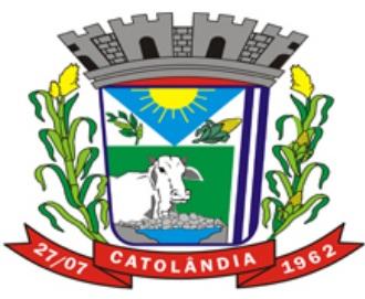 Brasão: Prefeitura Municipal de Catolândia