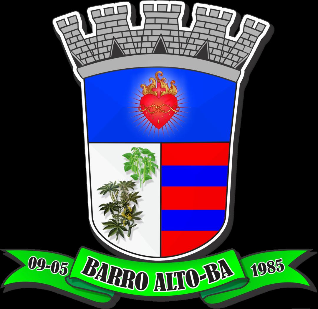 Brasão: Prefeitura Municipal de Barro Alto