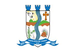 Brasão: Prefeitura Municipal de Santa Rita de Cássia